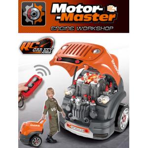 Vehículo todoterreno de control remoto de desmontaje y mantenimiento Motor Master