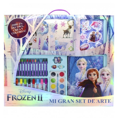 Set de Arte Frozen