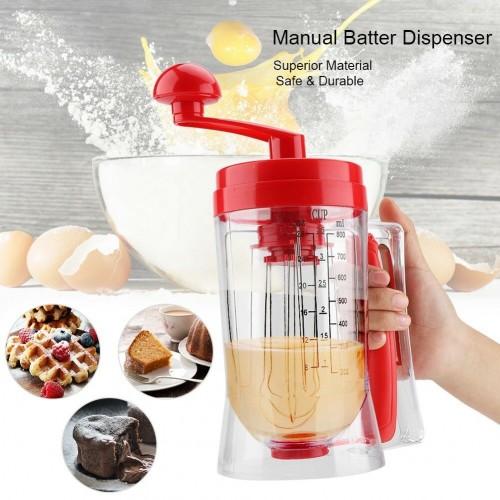 Maquina dispensadora de mezcla para pancakes