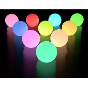 Luces de esfera de colores RGB