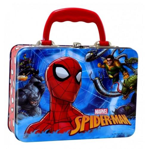 Lonchera Metálica Chica Spiderman