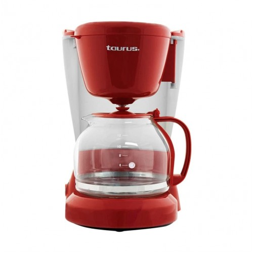 Cafetera Taurus CoffeeMax 12Tazas Filtro Permanente Rojo