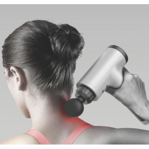 Pistola de masaje para relajación muscular vibración