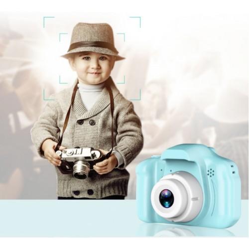Cámara digital infantil C3-B HD little pig de 2 pulgadas