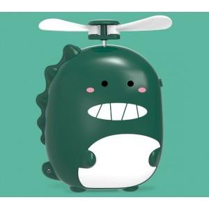 Mini ventilador de dinosaurio con espejo y luz SF191