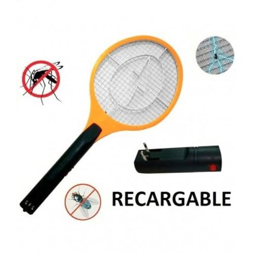 Raqueta eléctrica mata insectos