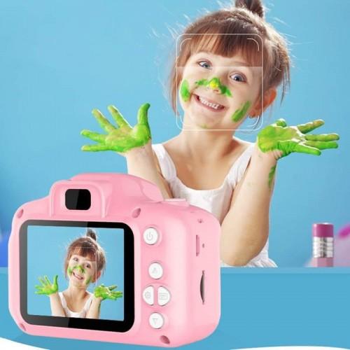 Cámara digital infantil little pig de 2 pulgadas