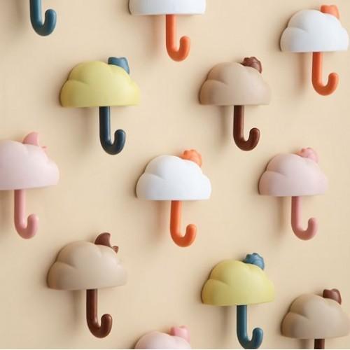 Gancho de pared en forma de nube JJYP06