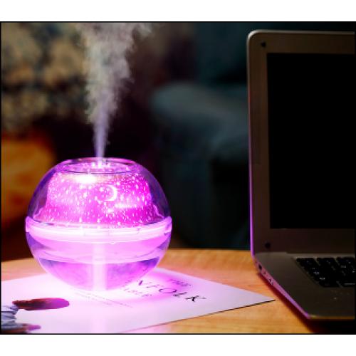 Humidificador con proyector de luz de 500ML