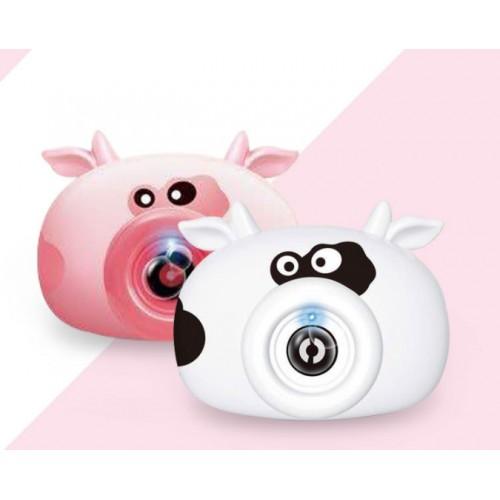 Cámara de burbujas figura de vaquita juguetes educativos interactivos de ocio y entretenimiento