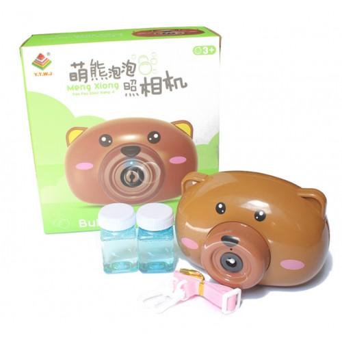Cámara de burbujas dibújo animado café juguetes educativos interactivos de ocio y entretenimiento