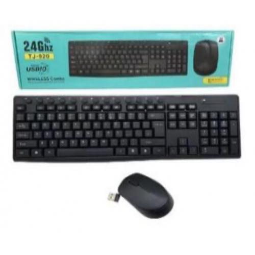 Juego teclado y mouse inalámbricos TJ-920
