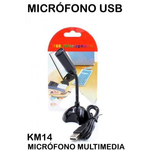 Micrófono multimedia KM14
