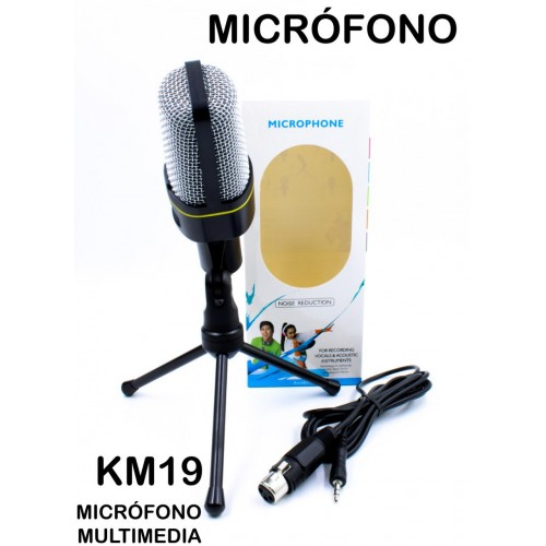 Micrófono multimedia KM19