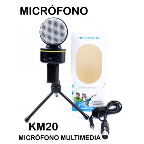 Micrófono multimedia KM20