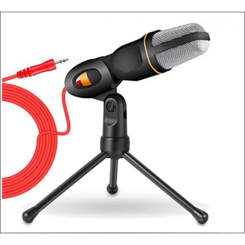 Micrófono de voz con cable adaptador