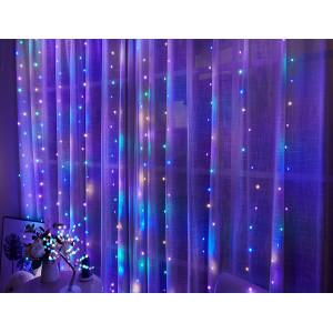 Serie de leds cortina de luces
