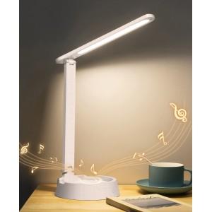 Lámpara de mesa multifuncional Bluetooth audio soporte para teléfono móvil