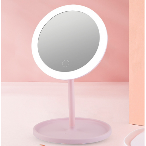 Espejo de maquillaje europeo con luz LED LED415