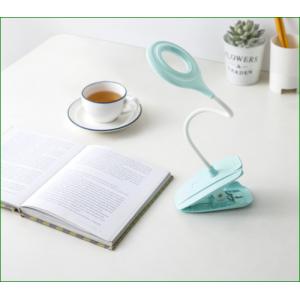 lámpara de libro de clip creativa
