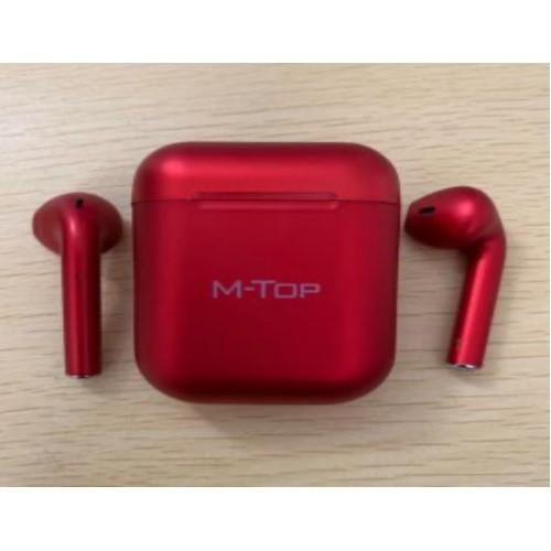 Auriculares inalámbricos inpods12 deportivos M-TOP color metalizado