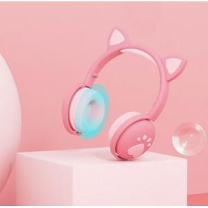 Auriculares inalámbricos Bluetooth de diadema de oreja de gato LY269