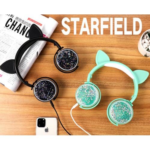 Audífonos Auriculares Orejas de gato LY270