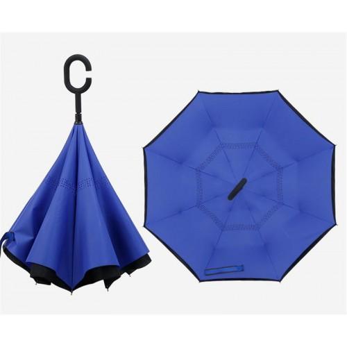 Paraguas invertido.