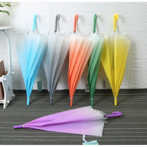 Paraguas de colores difuminados