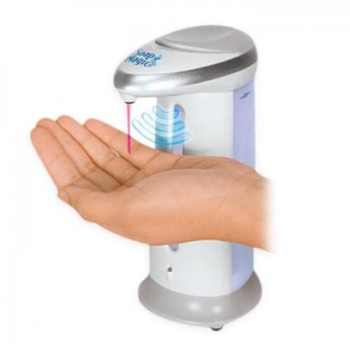 Dispensador Automático de jabón con sensor de movimiento