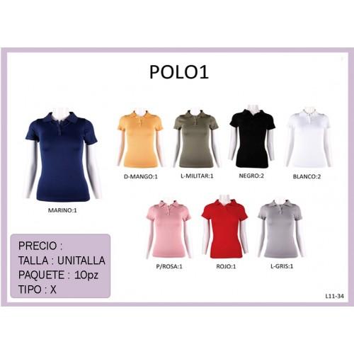 Blusa Polo POLO1