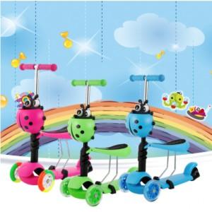 Scooter para niños Beetle Sit-on 3-in-1