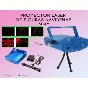 Proyector de figuras navideñas SD45