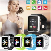 Smart Watch A1 Bluetooth GSM Cámara del teléfono para Android