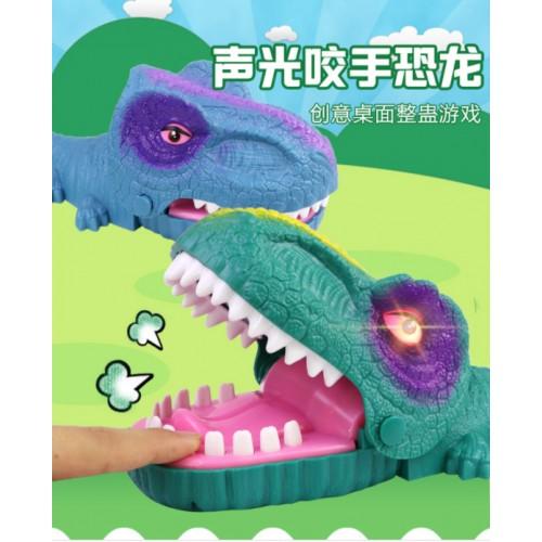 Juguete interactivo Dinosaurio con sonido y luz