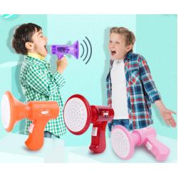 Mini cambiador de voz eléctrico de mano para niños