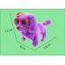 Perro eléctrico con sombrero y gafas