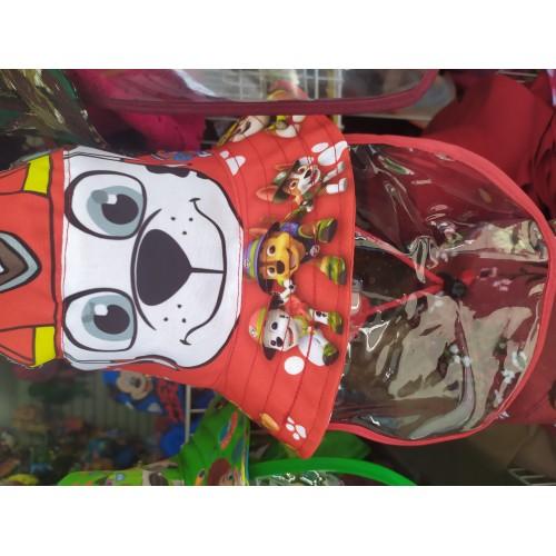 Gorra infantil tipo cazador con capa y Mica