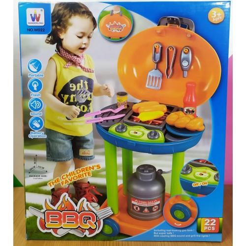 Asador infantil BBQ Mod. W022