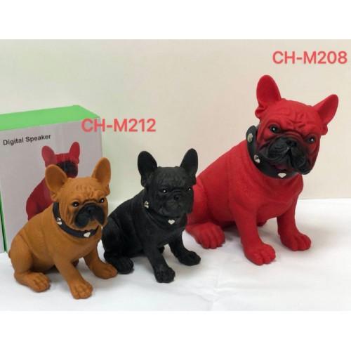 Bocina Altavoz con bluetooth forma de perro CH-M212