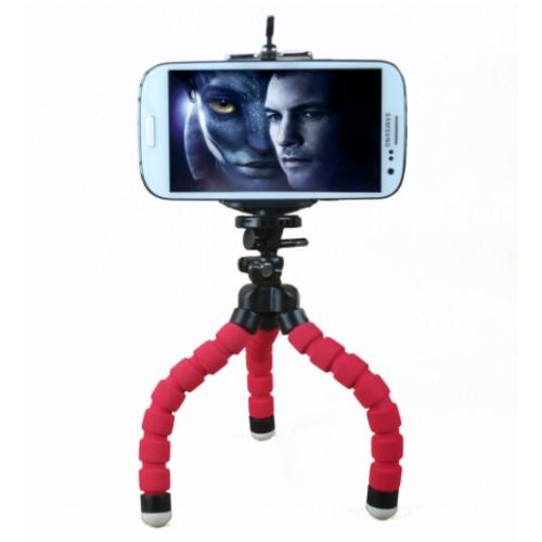 Spot esponja pulpo soporte para teléfono móvil teléfono móvil mini selfie trípode esponja trípode